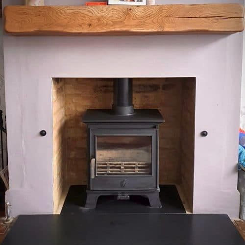 After the Annual Eco design ready stove, sweep and service in Bromley, BR1