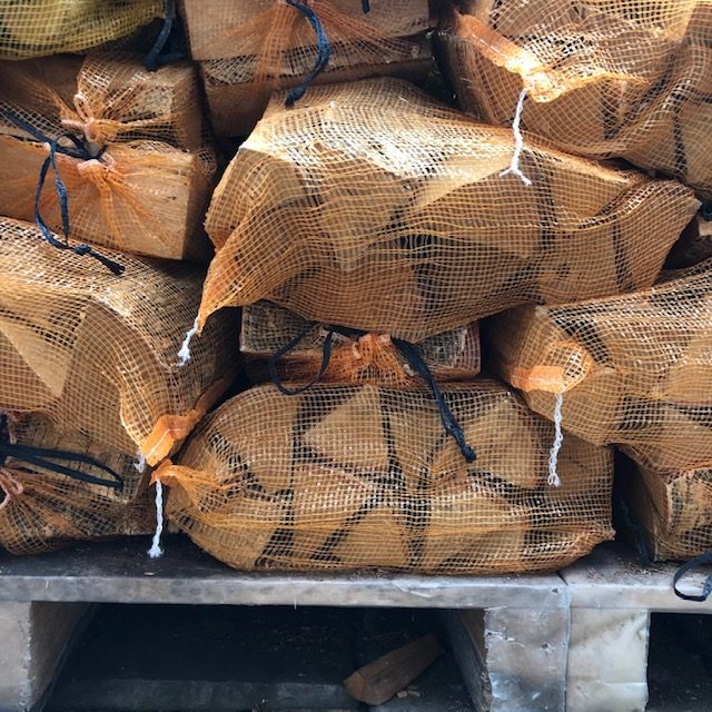 Kiln dried silver birch logs ideal for wood burning stoves in London